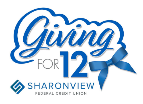 Sharonview Credit Union >> Press Release 2017 12 12 Sharonview Launches Giving For 12