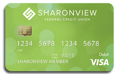 Sharonview HELOC Debit Card
