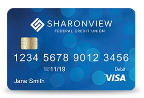 Sharonview Credit Union >> Visa Debit Card Nc Sc Sharonview Federal Credit Union
