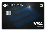 image of Visa Signature card with EMV chip