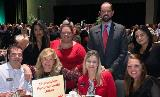Sharonview attends fundraising event for Habitat for Humanity
