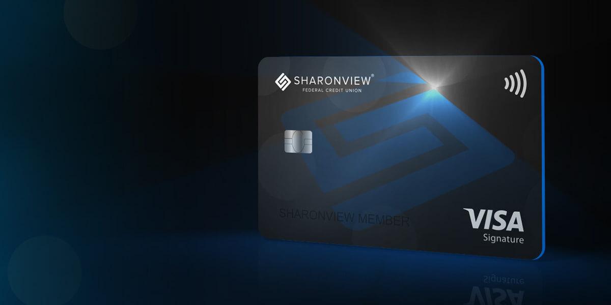 Sharonview Credit Union >> Visa Signature Credit Card Nc Sc Credit Card Sharonview